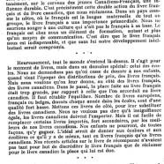 «Livres français, livres canadiens»