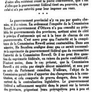 «Réponse du Québec»