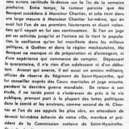 «Élections dans le comté, mercredi le 6 juillet 1955»
