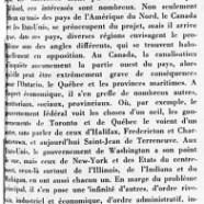 «L'avenir du Québec paraît devoir être grandiose»