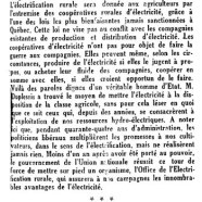 «L'honorable Maurice Duplessis et la coopération»