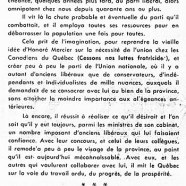 «L'imagination créatrice chez l'honorable Maurice Duplessis»