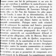 «Maurice Duplessis, le communisme et l'Initiative privée»