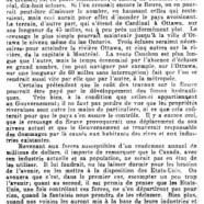 «Canaux et canalisation: le plan de M. Cauchon»