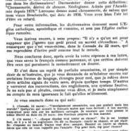 «M. Olivar Asselin et le français»