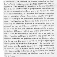«L'honorable Maurice Duplessis vu comme sauveur de la Confédération»