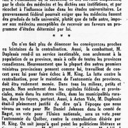 «Maurice Duplessis à Acton Vale»