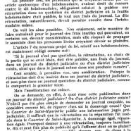 «La loi de presse»