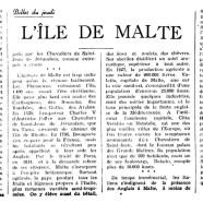 «L'île de Malte»