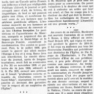 «Les souvenirs romains d'Henry Bordeaux»