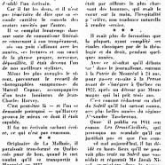 «La double carrière de Jean-Charles Harvey»