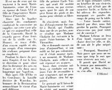 «Le peintre David mis à sa place par Mme Vigée-Lebrun»