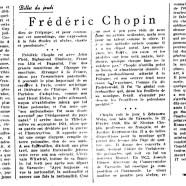 «Frédéric Chopin»