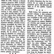 «Sir Hall Caine, romancier de l'île de Man»