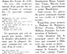 «Comment Louis Bouilhet est dit poète inconnu, par un journaliste montréalais»