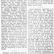«André Chamson et la fraternité humaine»