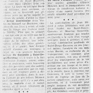«Un jeune critique qui promet : Jean Ménard»