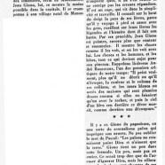 «Jean Giono, invité chez les Goncourt»