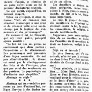 «Paul Hervieu, Sarcey et les tourmentés de notre époque»