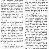 «Le vieux fort Saint-Jean, sur la rivière Richelieu»