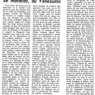 «Au congrès inter-américain de Maracay, au Vénézuéla»