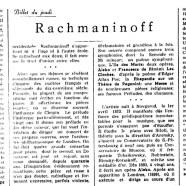 «Rachmaninoff»