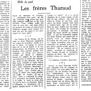 «Les frères Tharaud»