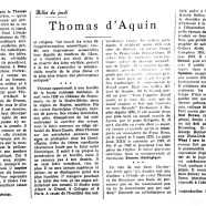 «Thomas d'Aquin»