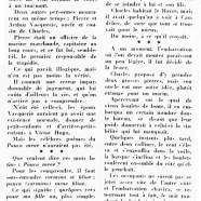 «La raison première du drame de Villequier»