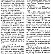 «Autocratie et paternalisme sous le régime français»