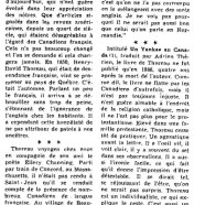 «Henry-David Thoreau au pays de Québec»