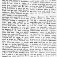 «Un homme d'autrefois : Lucien Descaves»