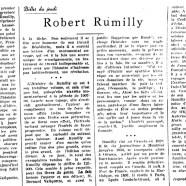 «Robert Rumilly»