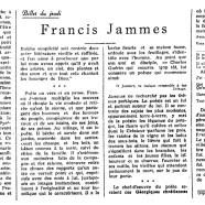 «Francis Jammes»