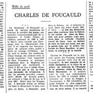 «Charles de Foucauld»