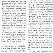 «De la recherche au Canada-Français»