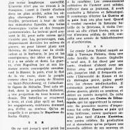 """«Tolstoï au cinéma : """"La Guerre et la paix""""»"""