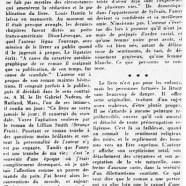 «Un roman posthume de Louis Dantin»