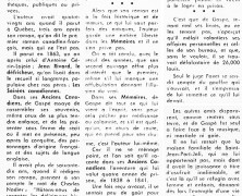 «Une nouvelle édition des Mémoires de Philippe-Aubert de Gaspé»