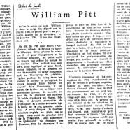 «William Pitt»