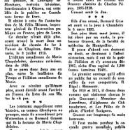 «De Louis Hémon à Bernard Grasset»