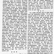 «M. Léon Lorrain et ce qu'il pense du langage des affaires»