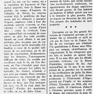 «Jérôme Carcopino et l'antiquité romaine»