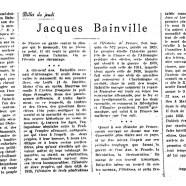 «Jacques Bainville»
