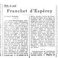 «Franchet d'Espérey»