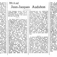 «Jean-Jacques Audubon»