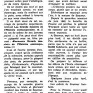 «La triste histoire des Cadets de Saumur»