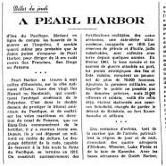 «À Pearl Harbor»