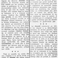 """«Le """"Journal"""" des Goncourt paraîtrait sans coupures»"""