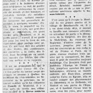 «Jean Bruchési dans le rôle nouveau de mémorialiste»